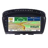 XINLEI Radio de Coche con Pantalla táctil Android 10 Reproductor Multimedia para Coche Fit for BMW 5 Series E60 E61 E62 E63 E64 E90 E91 E92 CCC CIC Idrive Radio GPS Car Play(Color:CIC CAM 8Core)