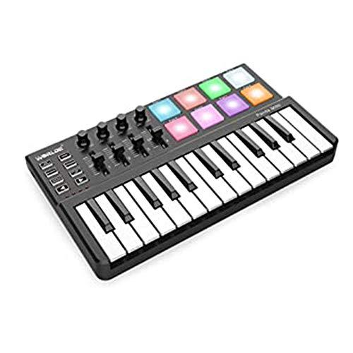 WANGJIANG 25-Tasten-Midi-Keyboard Percussion Music Arranger Keyboard elektronische Musik MIDI-Controller