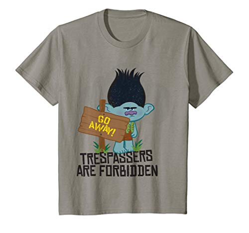 Kids DreamWorks' Trolls Branch Go Away! T-Shirt