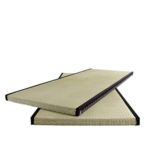 Karup Design Mat 70 cm 70 | Traditionelle Japanische Tatami Matte Für Futon-Matratze | Reisstroh Bodenmatte 70 x 200 cm, beige, 200x70x5.5 cm