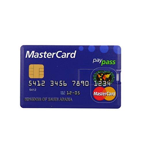 Garciasia Tarjeta de crédito compacta USB Flash 8GB 4GB 16GB 64GB 128GB...