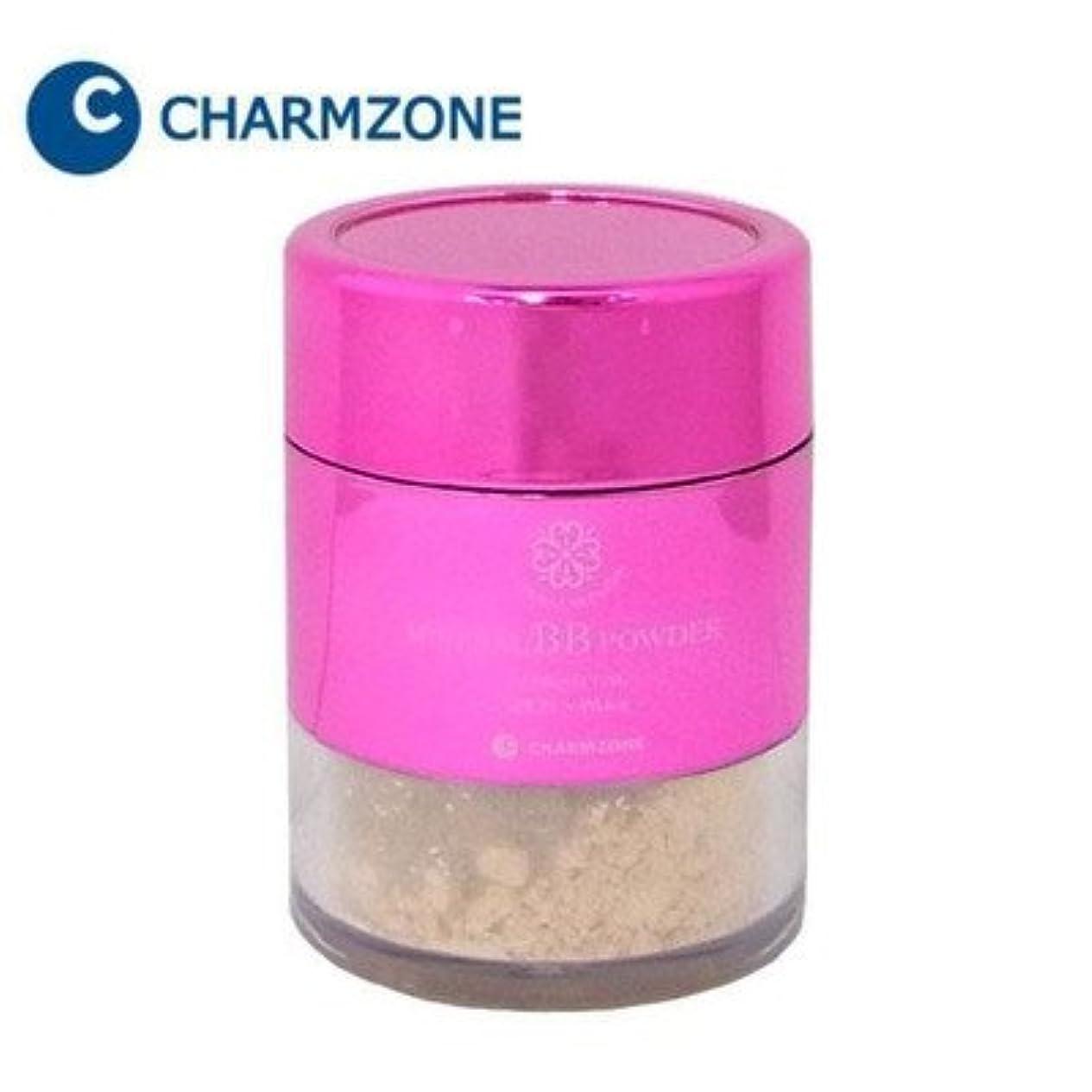 不適当住居テスピアン77種類の保湿成分配合パウダーでツヤ肌に チャームゾーン ナチュラルスキンエード ミネラルBBパウダー プレミアム 10g