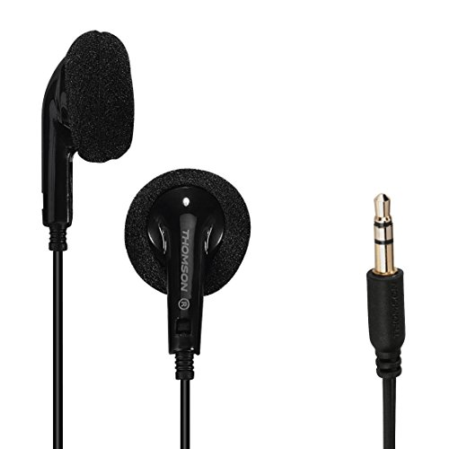 Thomson HED87N Mikro Kopfhörer, schwarz