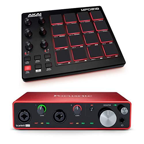 Scarlett 4i4 3rd Gen USB Audio Interface with...