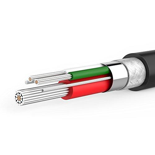 Anker [6-Pack Powerline Micro USB Kabel, 2x0.3m + 3x0.9m + 1x1.8m Ladekabel, Einer Lebensdauer von 10,000+ Biegungen für Galaxy, Nexus, LG, Motorola, Android Smartphones und weitere (Schwarz)