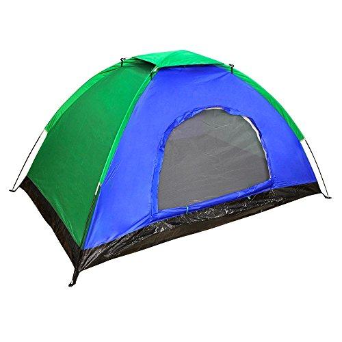 Aktive - Tienda Camping para 4 personas con protección UVA y medidas