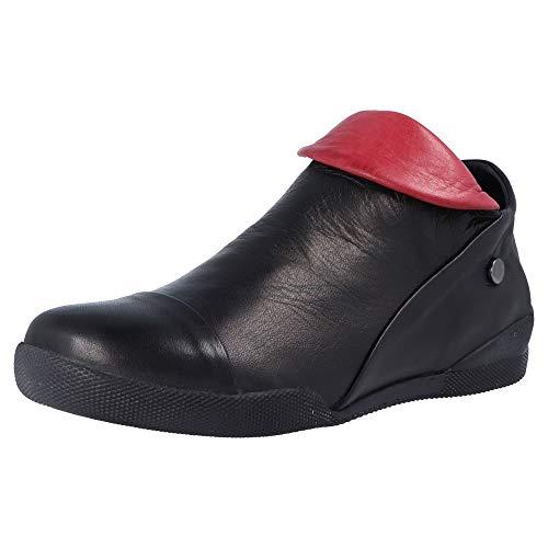 Andrea Conti Damen 0340518 Stiefeletten, schwarz/kombiniert 098), 39 EU