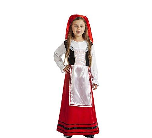 Disfraz de Pastora Campesina para niña: Amazon.es: Juguetes y juegos