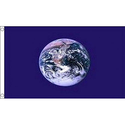 AZ FLAG Flagge Planet Erde 150x90cm - Planet Earth Fahne 90 x 150 cm - flaggen Top Qualität