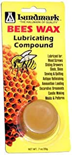 Lundmark Pure Bee`s Wax Lubricating Compound, .7-Ounce, 9105W7-100