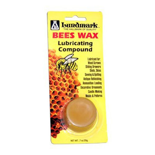 Lundmark Pure Bee's Wax Lubricating Compound, .7-Ounce, 9105W7-100