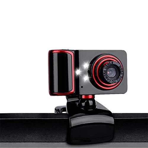 HD Webcam, Fotocamera 480P Web con Microfono USB Plug And Play Web Cam, Widescreen Video Recording callling per Windows XP / Win7 / 8/10 / Vista