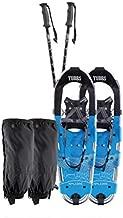 Tubbs Men's Xplore Kit Trail Walking Snowshoes, Silver/Blue, 25