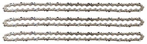 3 tallox Catene per motosega 3/8' 1,3 mm 55 maglie guida 40 cm compatibile con Stihl