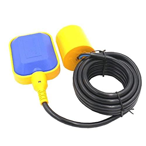 Sensor del control de nivel de líquido de agua Interruptor de fluidos contactor 4M Tipo de cable rectangular de bomba para depósitos de Automatización Industrial Accesorios