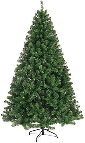 Alberi di Natale artificiali Verde alberi decorati auto-diffusione Supporto Premium Abete cerniera metallo for Interni Esterni PVC albero di Natale artificiale 210CM albero di Natale artificiale Natal