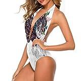 Adorise - Conjunto de bañador para niña, diseño de cita de belleza para despedida de soltera Multi 15 L