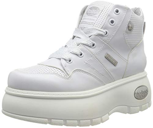 Dockers by Gerli Women's Hi-Top Trainers, White (Weiss 500), 9.5 us