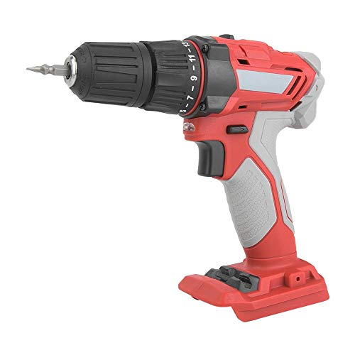Cordless Electric Screwdriver, Multifunctional Cordless Dual Speed Adjustable Electric Screwdriver Drill Set Rechargeable Power Drill Torque Adjustable