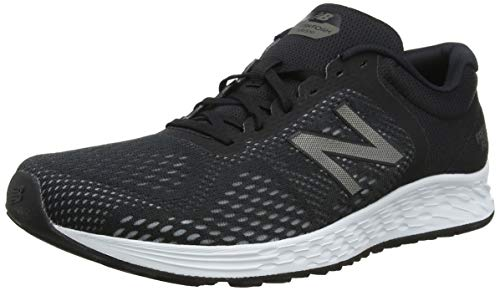 New Balance Men's Fresh Foam Arishi V2 Running Shoe, Black/Gunmetal, 9 M US
