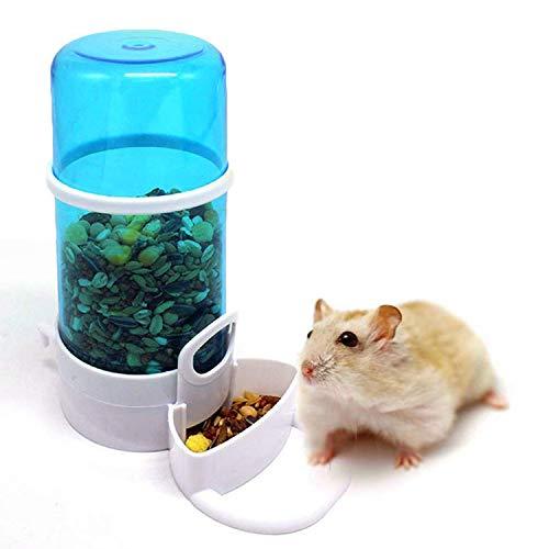 Petiwa 自動給餌器 給水器 小鳥 小動物用 エサ皿 容器 飼育 ペット エサやり 水やり スリム 軽量