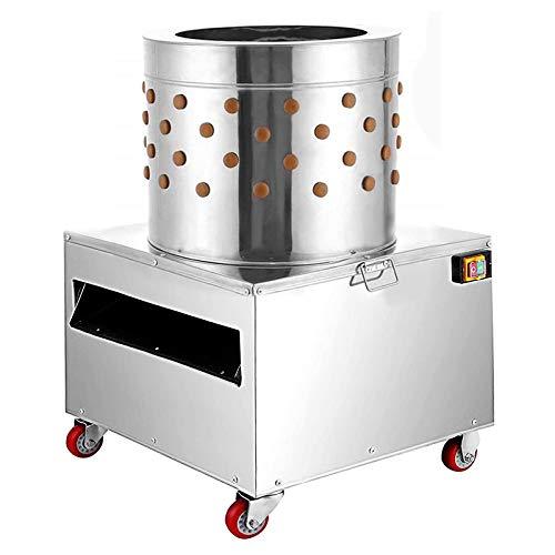 SuxiDi 110V Chicken Plucker Machine 1500W 275R/MIN Chicken Plucker, Poultry Feather De-Feather Remover 20' Tub - Ideal for Poultry Chicken, Bird, Duck, Turkey.