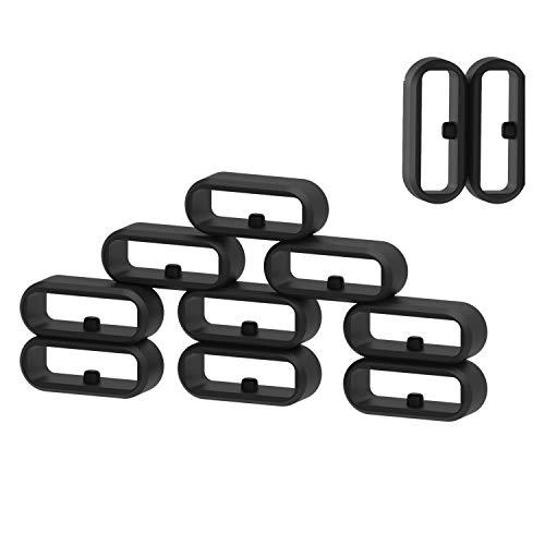 Ruentech - Pulsera de silicona para Garmin Vivomove/Vivomove HR/Vivoactive 3/Forerunner 645/Forerunner 645 (11 unidades)