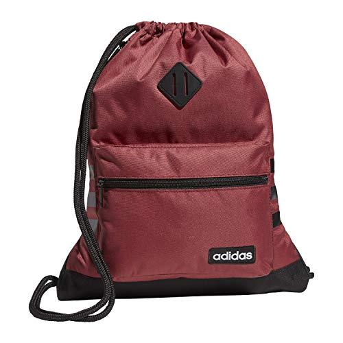 adidas Classic 3S - Mochila, Unisex adulto, Mochila clásica 3S., 5150790, Legacy Rojo/Negro, talla única
