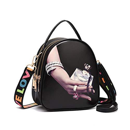 CZHJG Rucksack Frühling Und Sommer Trend Schultern Schulter Hängende Handtasche Mode Hundert Kleine Taschen Leichte Kompakte Rucksack Hand Parfüm