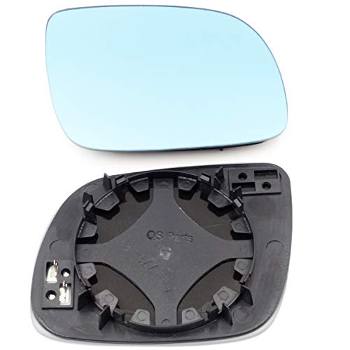 Spiegelglas Rechts Konvex Blau Heizb. kleines Modell 1J1857522E