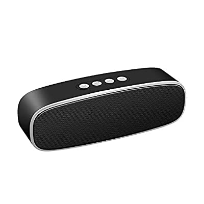 Bluetooth Speaker, Sonkir X2+ Portable Bluetooth 5.0 Wireless Speaker with 3D Stereo Hi-Fi Sound, Deep Bass for 360° Surround Sound, 12H Playtime (Grey) by Sonkir