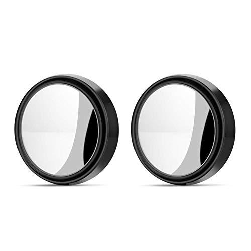NUIOsdz Espejo retrovisor de Coche Redondo Giratorio Ajustable Gran Angular Espejo Auxiliar de Punto Ciego Accesorios para automóviles