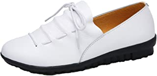 KOTWDQ Womens Slip On Casual Shoe Working Flat Sneakers Ladies Comfy Soft Loafers