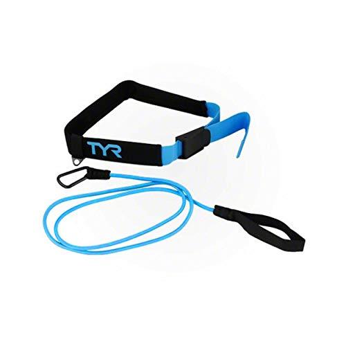 TYR Aquatic Resistance Belt, Black/Blue, 9.5 x 4.5 x 2.5 inches