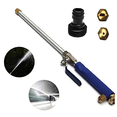 High Pressure Water,Car Washer Water Hydro Jet High Pressure Power Washer Spray Nozzle, for Garden Plant Watering Car Washing Window Cleaning