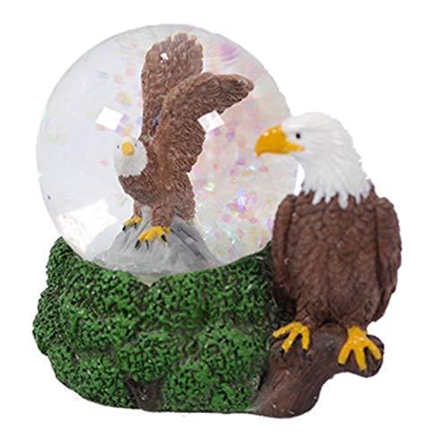 PIA Glitzerkugel Adler, Schneekugel Tier Tiere Schneekugeln Weißkopfseeadler