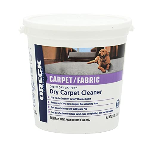 Oreck Dry Carpet Shampoo, 4LB, White