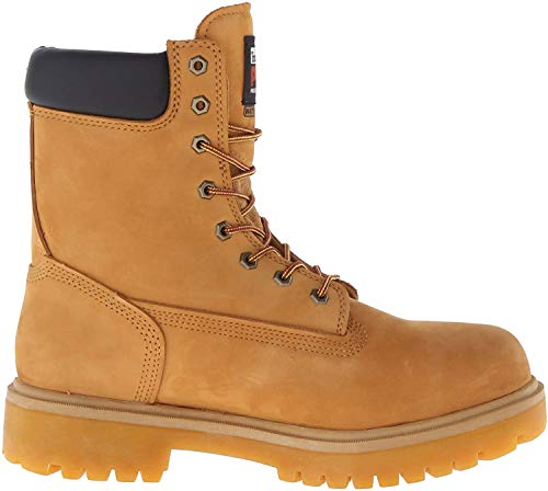 Timberland PRO Men's Direct Attach 8' Steel Toe Boot,Wheat,11 M