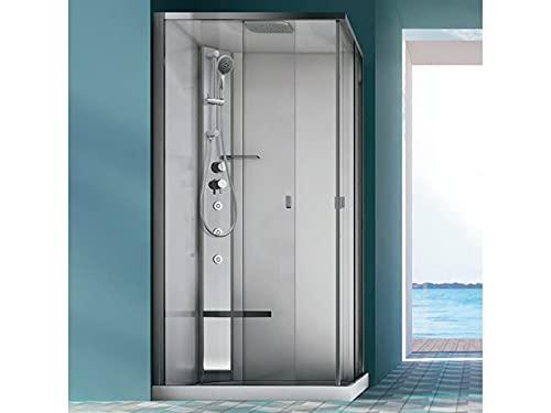 Hafro Sound Integra - Cabina de ducha multifunción angular 1SDC5S2