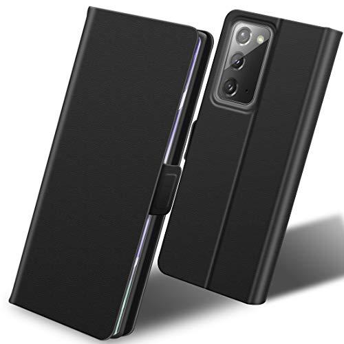 SHINEZONE per Cover Samsung Galaxy Note 20, Flip Caso Custodia Pelle PU con [Slot Cart] [Magnetica] con Samsung Galaxy Note 20 Cover Custodia (Blu)