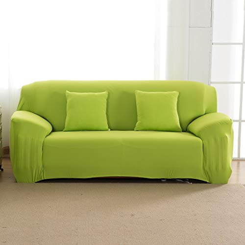 ASCV Stretch-Sofabezug All-Inclusive-Sitzbezug aus elastischem Sitz für Wohnzimmermöbel Schonbezüge Fundas de Sillones A19 1-Sitzer