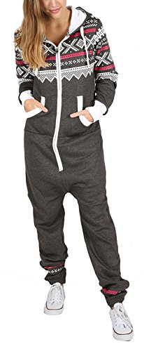 Juicy Trend Mujer Adulto Onesie Ropa de Dormir Pijamas