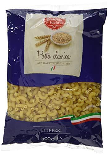 mamma lucia Pasta Chifferi - Hörnchen, 20er Pack (20 x 500 g)