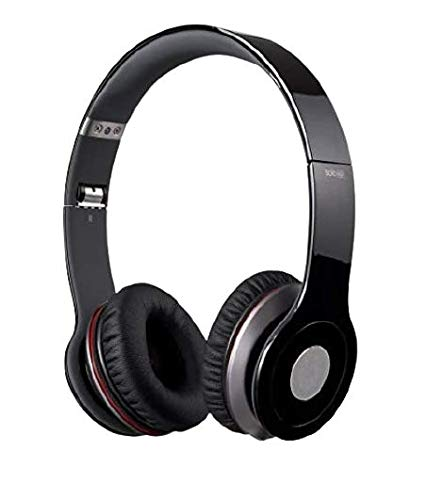 Dronean SH-HDV6 Super Extra BASS Solo HD On Ear Headphone Without Mic and Stereo Sound Powerful Headphone