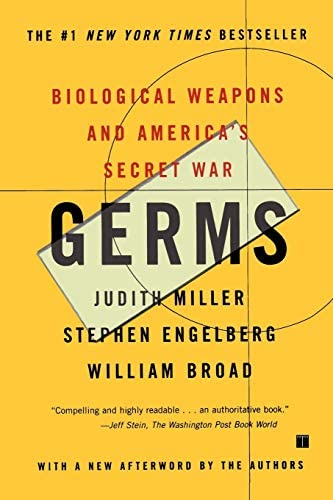 Germs Biological Weapons and America s Secret War product image