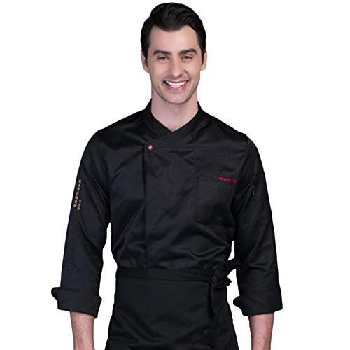 WYCDA kookjack korte mouwen meerdere kleuren rood wit zwart meerdere kleuren chef's shirt met lange mouwen geschikt voor hotel restaurant Home Tea House