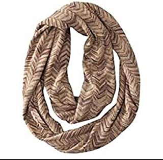 Missoni for Target Infinity Scarf Zigzag Gold Brown Chevron