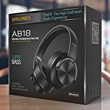 Amazrock High Definition Wireless Headphone Over Ear (Super Bass) - Integrated HD Microphone for Hands-Free call | Noise Isolation - High end Driver | AB18 Model (up to 42 hour playtime) | 50mm Driver