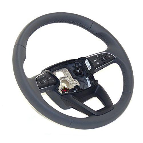 Original MFA Lenkrad 3-Speichen Lederlenkrad steering wheel, beheizt, Leder granit grau, 8W0419091AQ