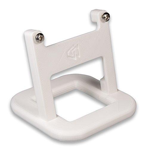 Ständer für Hive Thermostat V2,mit Schrauben, weiß, abgeschrägt, P3D-Lab